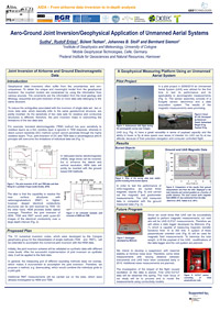 Aero-ground joint inversion/geophysical application of unmanned aerial systems