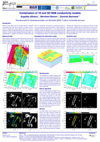 Combination of 1D and 3D HEM conductivity models